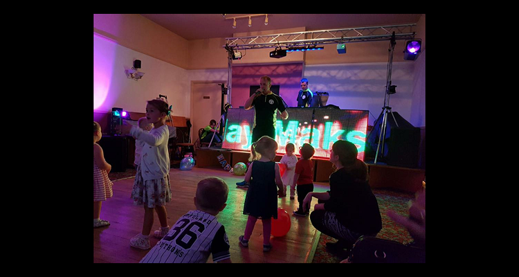 mobile disco Derby - Childrens party