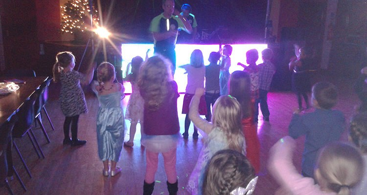 mobile disco Derbyshire - Kids parties