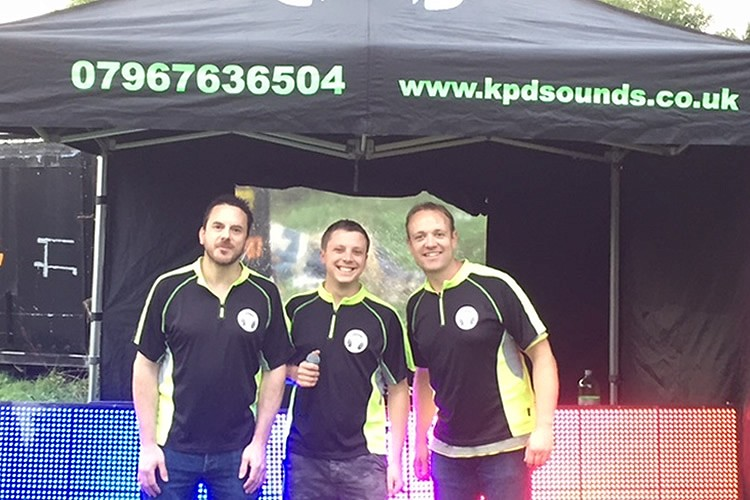 Meet the team - KPD Sounds - Disco professionals Nottingham & Derby